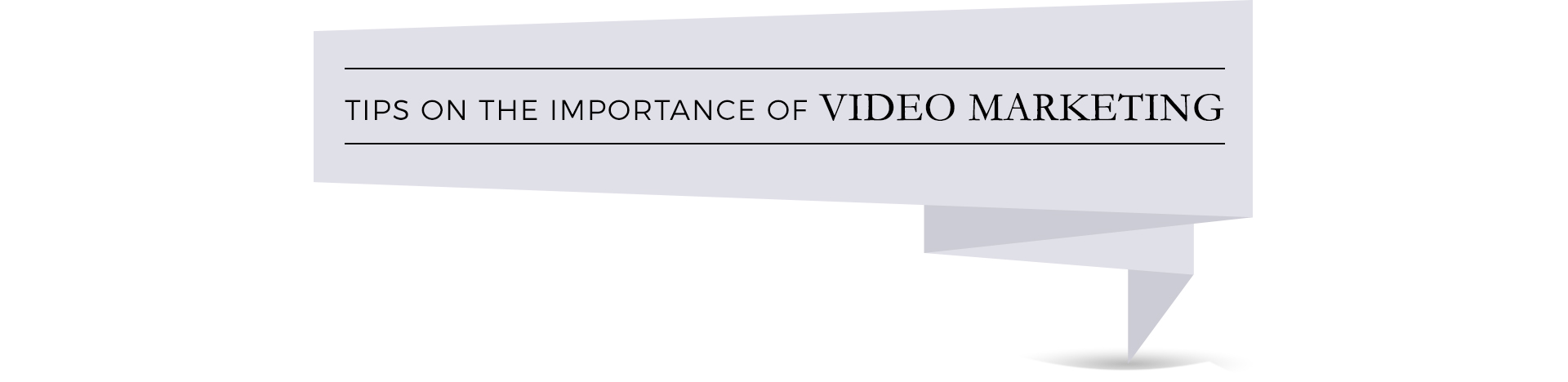 tips on video marketing-button